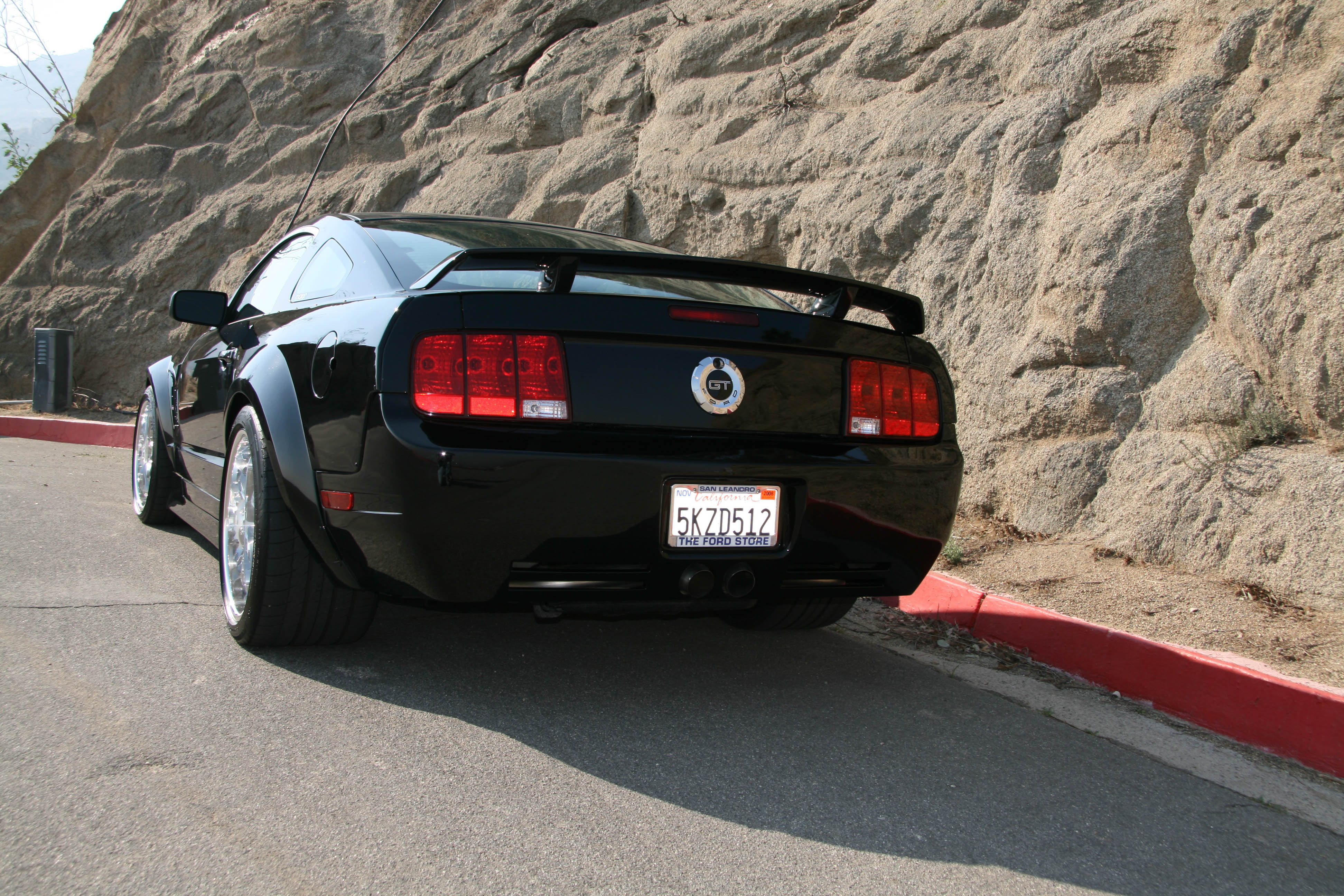 05 09 rear spoiler