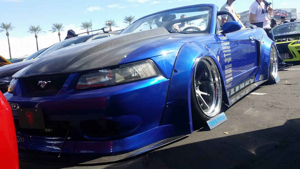 99 04 Wide Body Front Flares Maier Racing