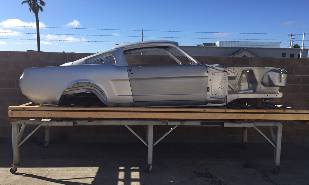 New 65 66 Fastback Uni Body Maier Racing